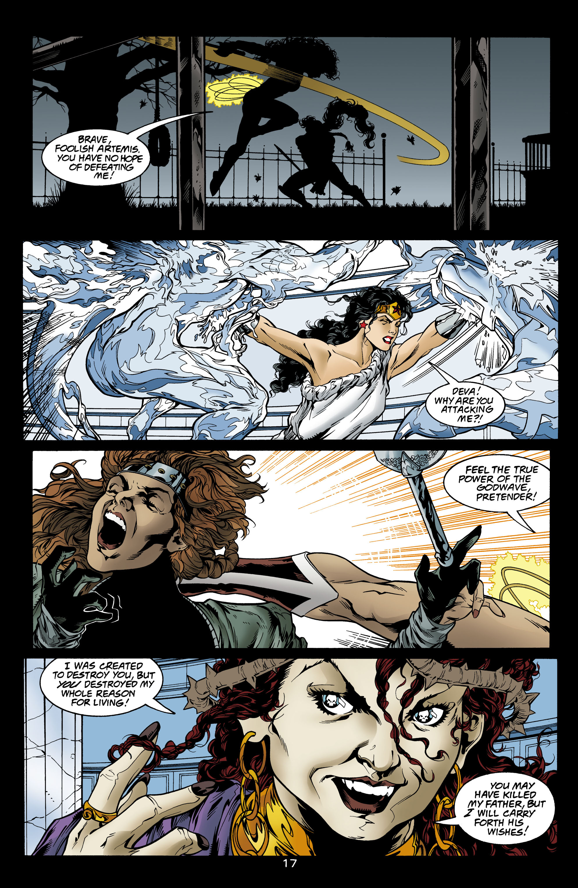 Read online Wonder Woman (1987) comic -  Issue #156 - 18