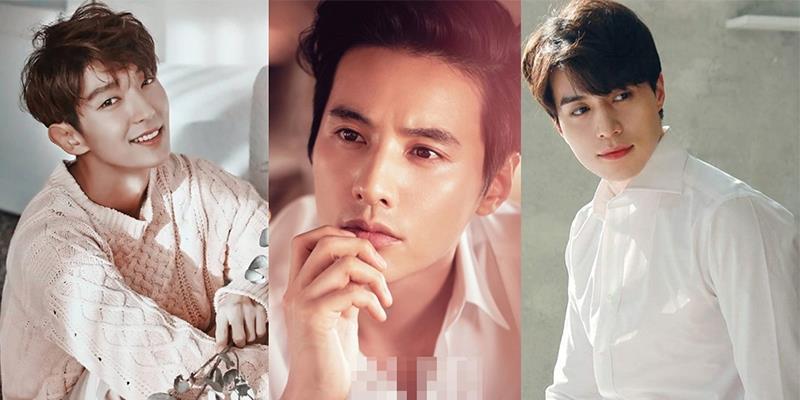Vẻ đẹp nam tính và hút hồn của những tài tử đình đám xứ Hàn