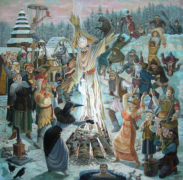 Масленица (Проводы зимы) - об истории и традициях