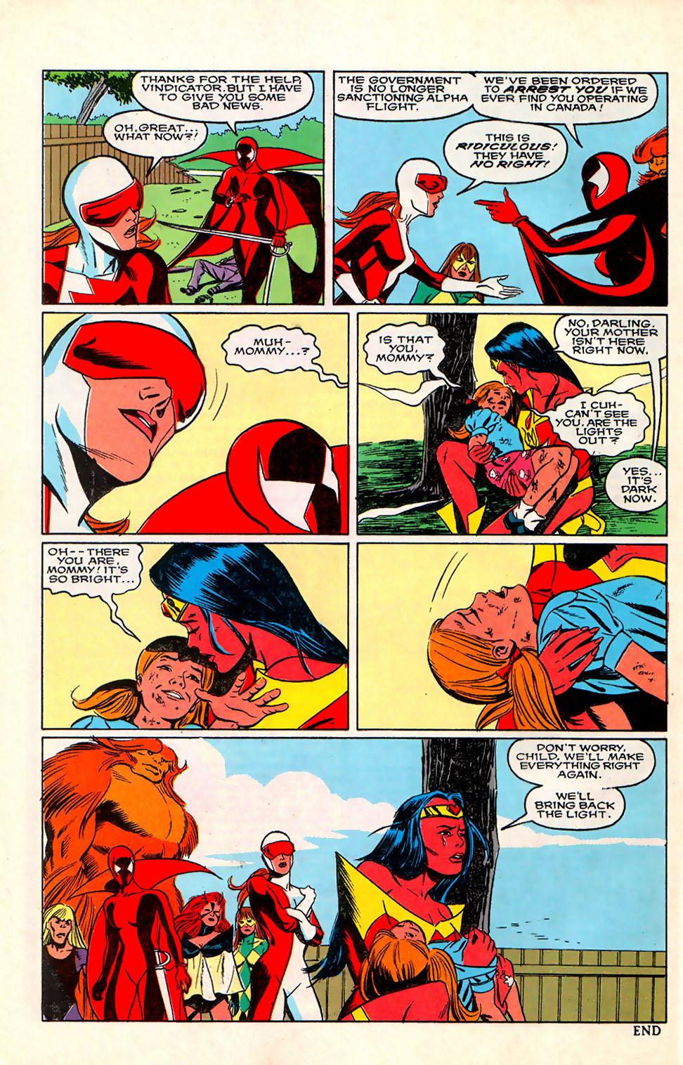 Read online Alpha Flight (1983) comic -  Issue #76 - 25