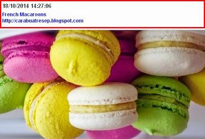 Foto Kue Macaroon Perancis
