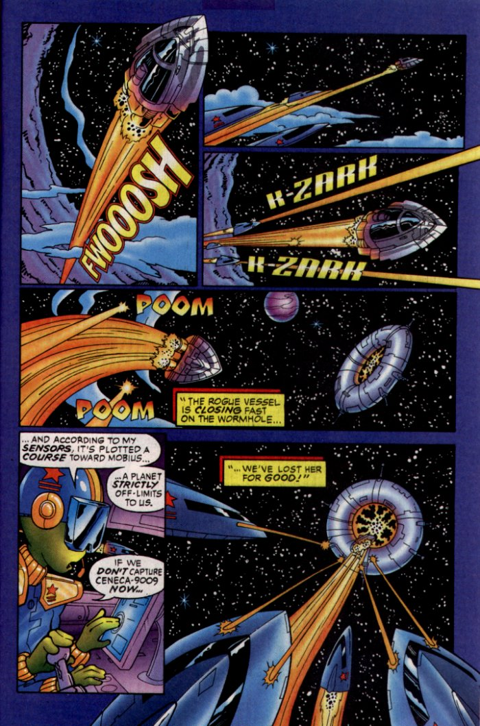 Read online Sonic The Hedgehog comic -  Issue #129 - 23