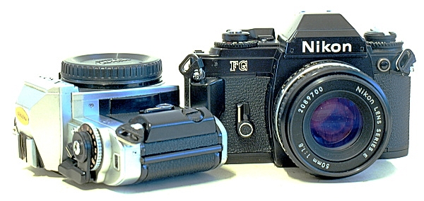 Nikon FG 35mm Analog SLR Cameras