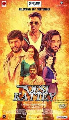 Desi Kattey (2014) Movie Poster No. 2