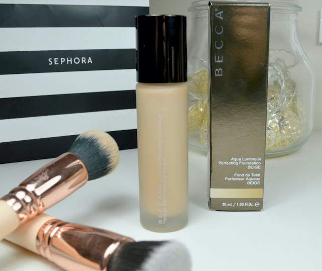 foundation - dewy finish - dewy foundation - becca cosmetics - Aqua Luminous Perfecting Foundation - review - make up