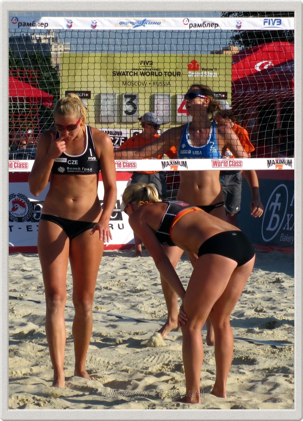 Team Fault of Czech Beach Volleyball Team