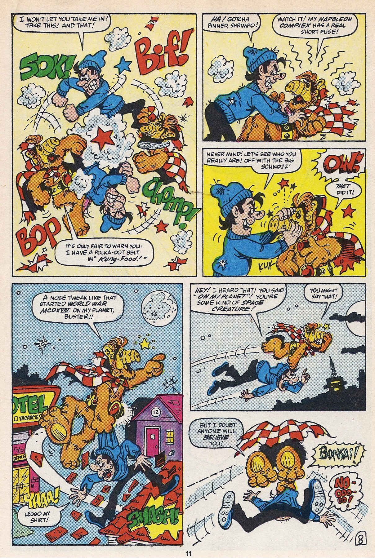 Read online ALF comic -  Issue #16 - 13