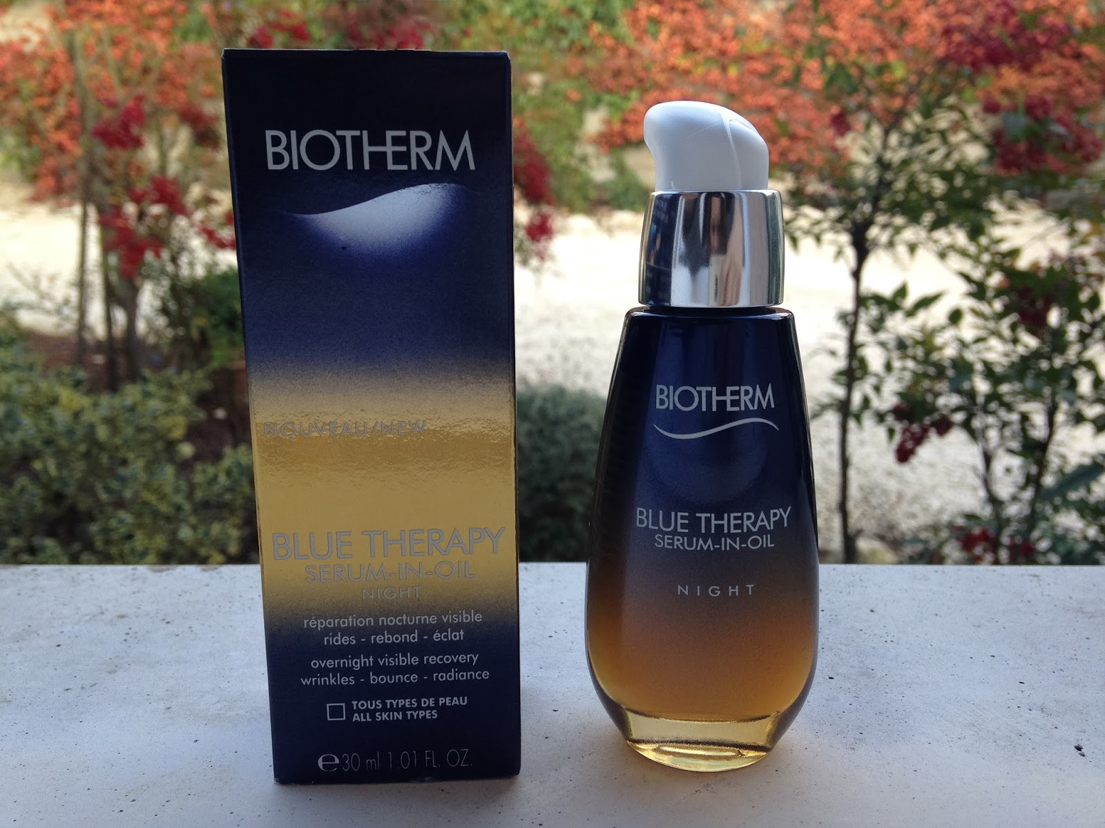serum in-oil blue therapy avis
