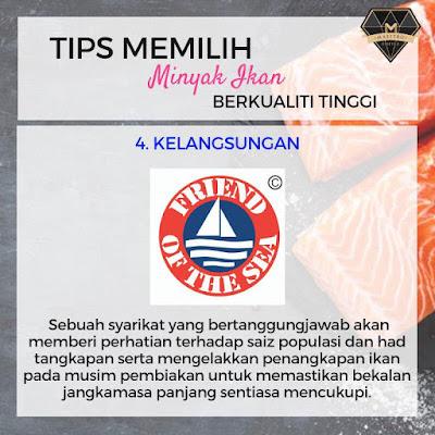 Tips Memilih Minyak Ikan Yang Berkualiti