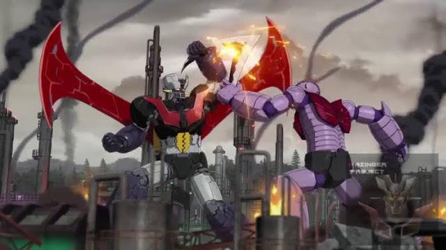 Screenshot  Film Mazinger Z : Infinity (2018). 3