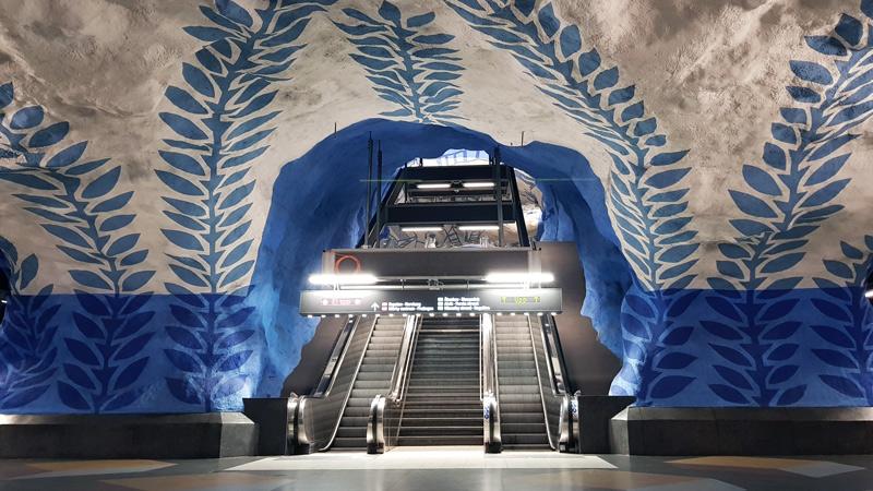 Stockholm T-Centralen Station Art
