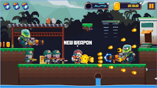Game Metal Shooter: Run and Gun App