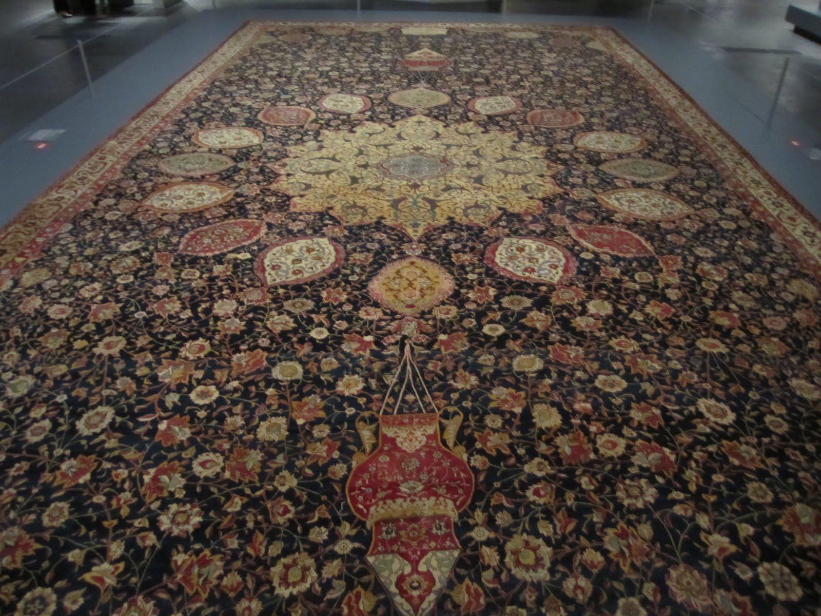 Ardabil Carpet: Ardabil Carpets LACMA Los Angeles County