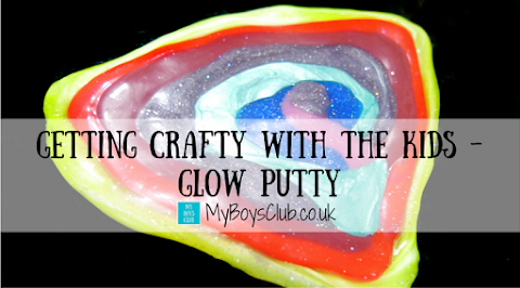 Getting Crafty With The Kids - Glow Putty
