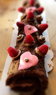 Valentine's Cake from Armelle's Kitchen