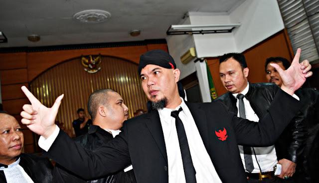 Ahmad Dhani Resmi Ajukan Banding