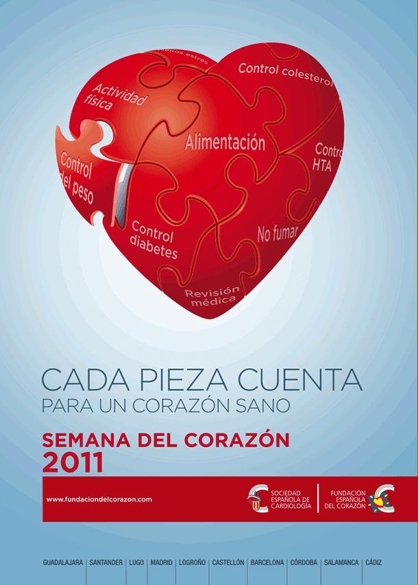Semana del corazón factores de riesgo cardiovascular