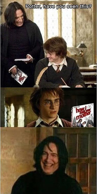 How I met your mother Harry and Snape