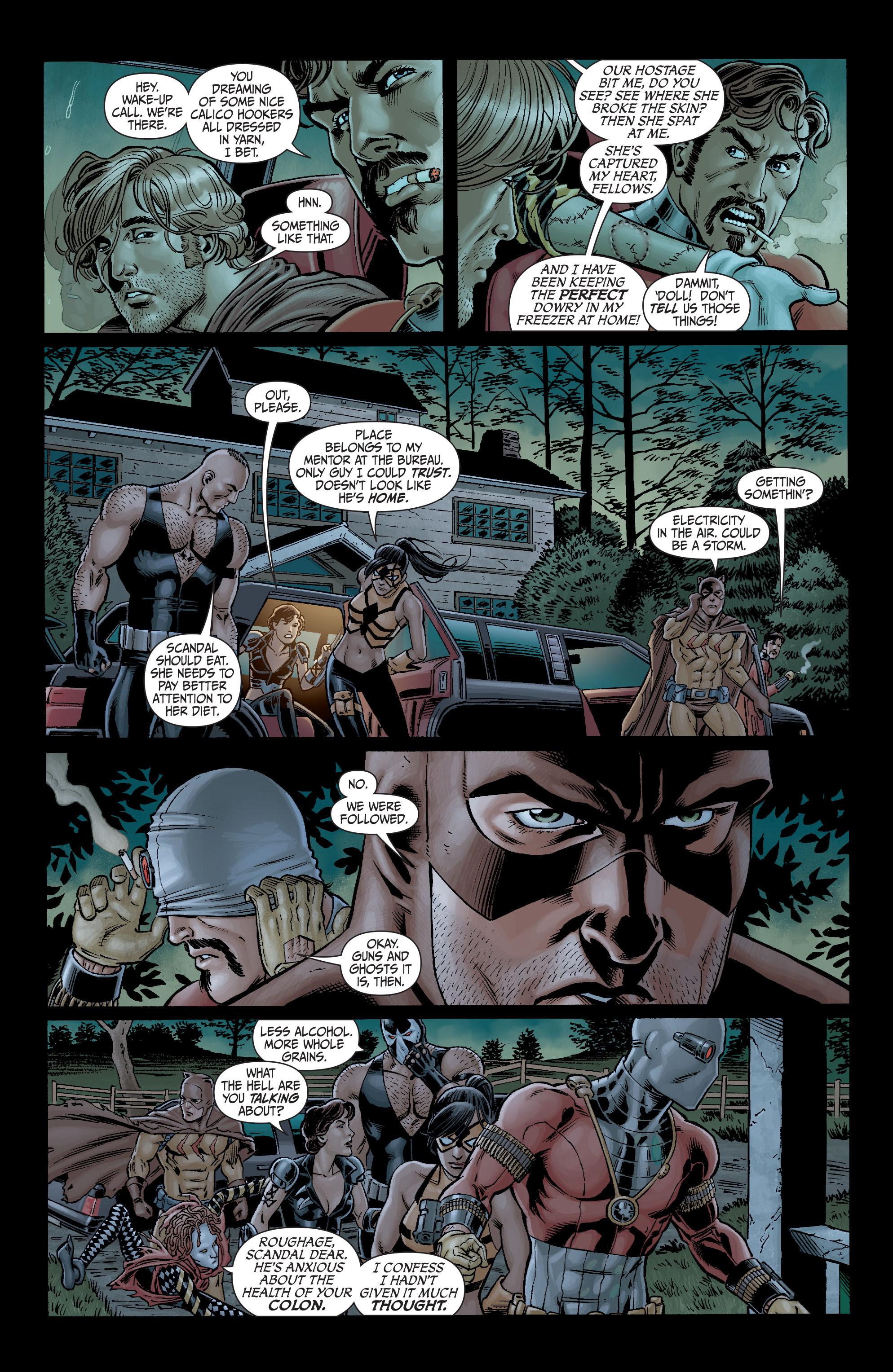 Read online Secret Six (2008) comic -  Issue #3 - 13