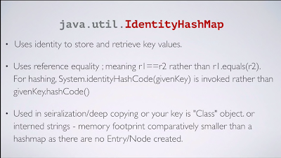 HashMap vs IdenityHashMap in Java