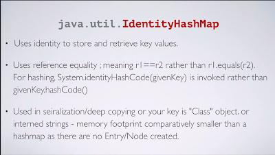 HashMap vs IdenityHashMap in Java