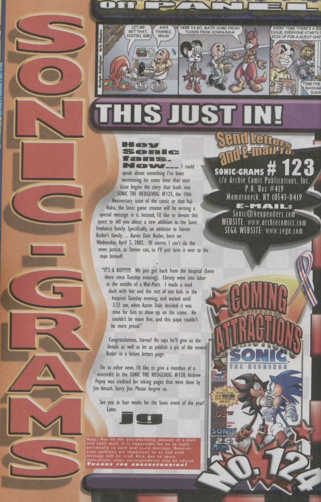 Read online Sonic The Hedgehog comic -  Issue #123 - 24