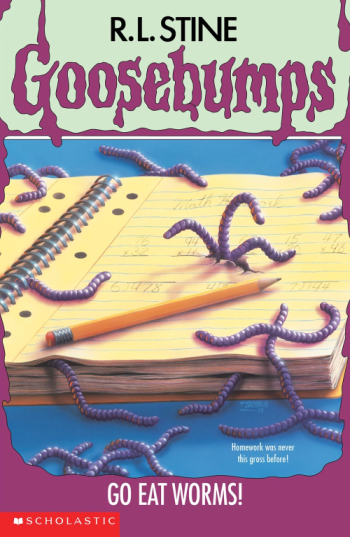 an analysis of goosebumps go eat New analysis shows yeti is not a hybrid polar bear find this pin and  see  more go eat worms (book 21) by r l stine - the goosebumps series was the.