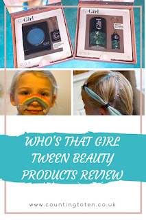 Who's That Girl Tween Beauty Products Review