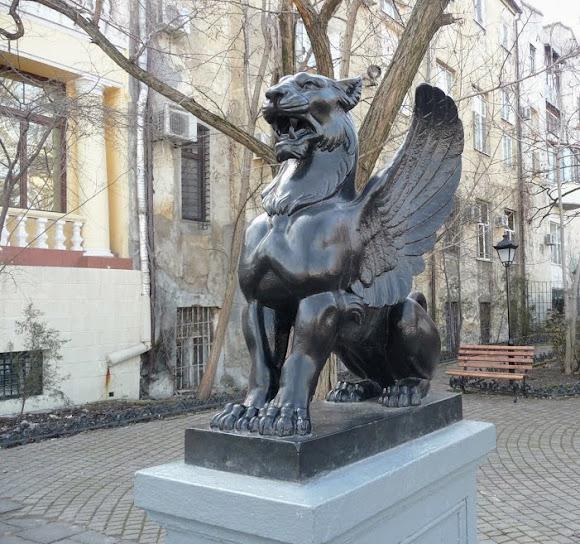 Одесса. Львы