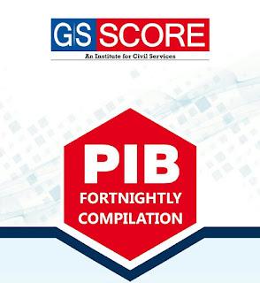 GS Score PIB January 2019 PDF