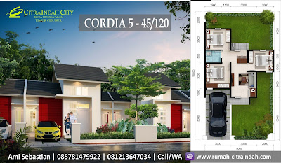 Model-Denah-Ruang-Cordia-5-45-120-Citra-Indah-City