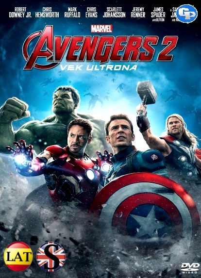 Vengadores 2: La Era de Ultrón (2015) FULL HD 1080P LATINO/INGLES