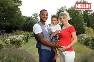 Walcott And Melanie Expecting Baby