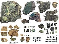 Las 82 piezas del mecanismo de Anticitera
