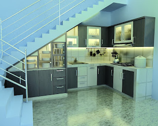 kitchen set custom desain