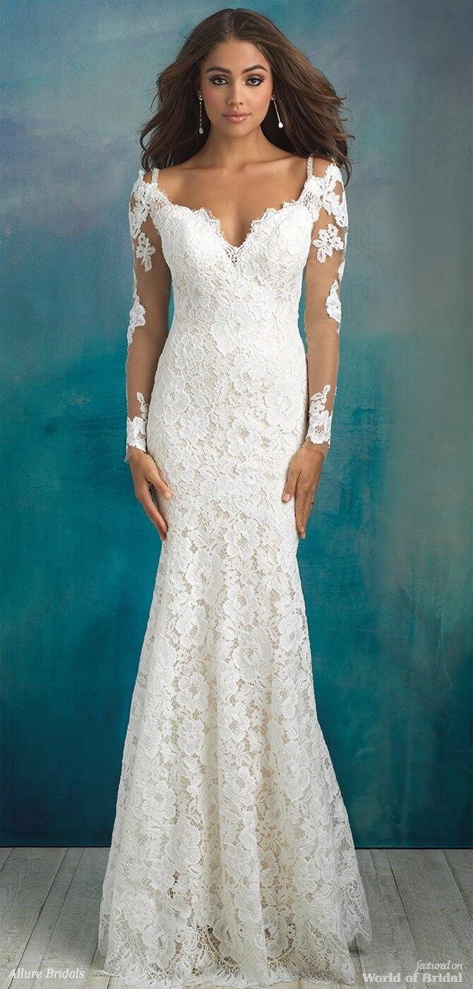 Allure Bridals Spring 2018 Wedding Dresses - World of Bridal