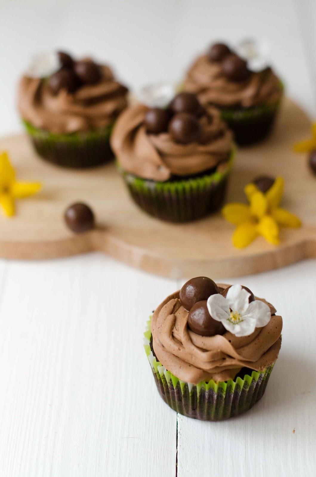 Cup Cake Aux Pepites De Chocolat