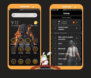 Tema Xiaomi PUBG V10