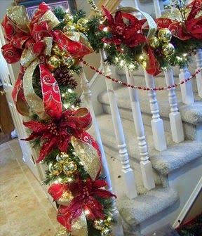 A mi manera arreglos de casa en navidad for Como adornar mi casa en navidad