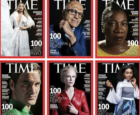 Time''s 2018 Most Influential People list has record number of women, people under 40