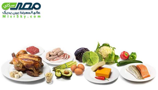 الأطعمة المسموح والغير مسموح بها اثناء الرجيم تبعاً لفصائل الدم