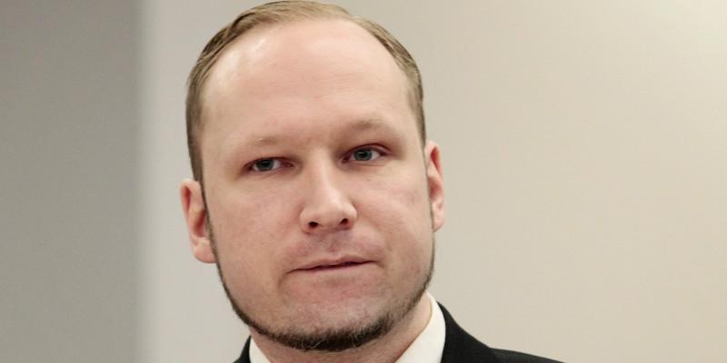 Anders Behring Breivik, pelaku penembakan massal di Norwegia