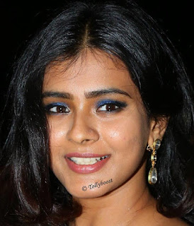 Hebah Patel sizzles in a Sleeveless Shoulder less Glittering Silver Evening Gown