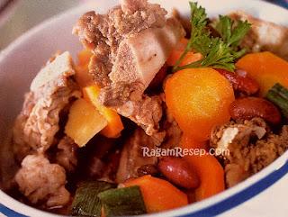 Resep Dan Cara Membuat Sup Iga Kambing Kacang Merah