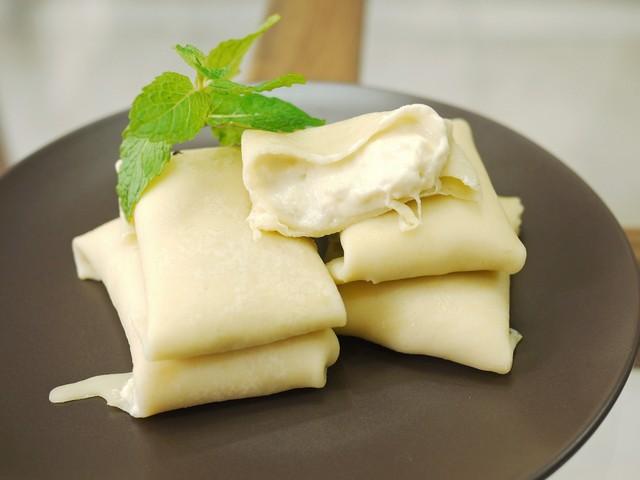 cara membuat whipped cream untuk pancake durian