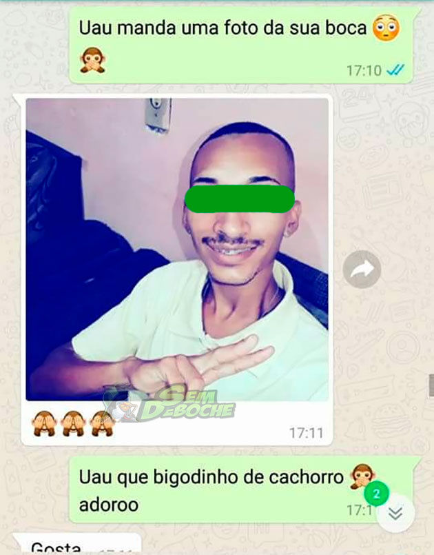 TROLLANDO O AMIGO SE PASSANDO POR MULHER