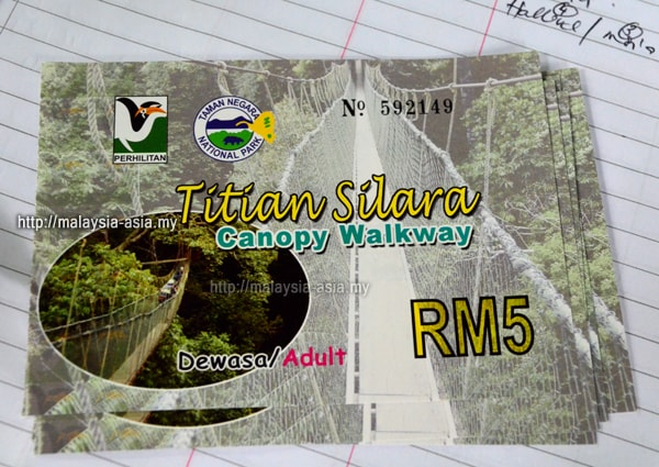 Ticket for Canopy Walk