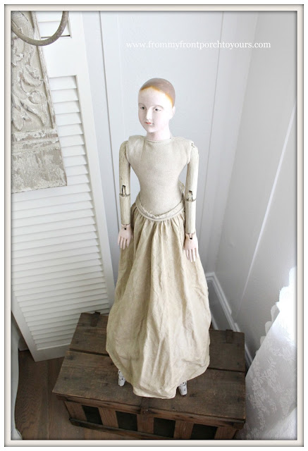 French Country Farmhouse Dining Room-Santos Cage Doll- From My Front Porch To Yours