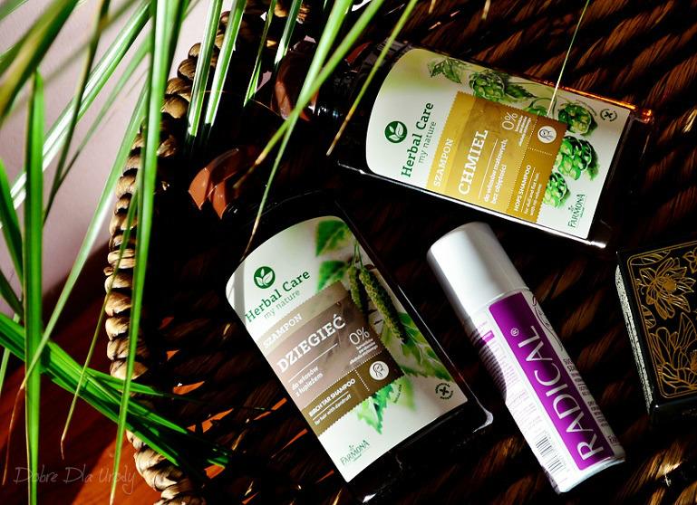 Farmona szampony Herbal Care oraz Radical