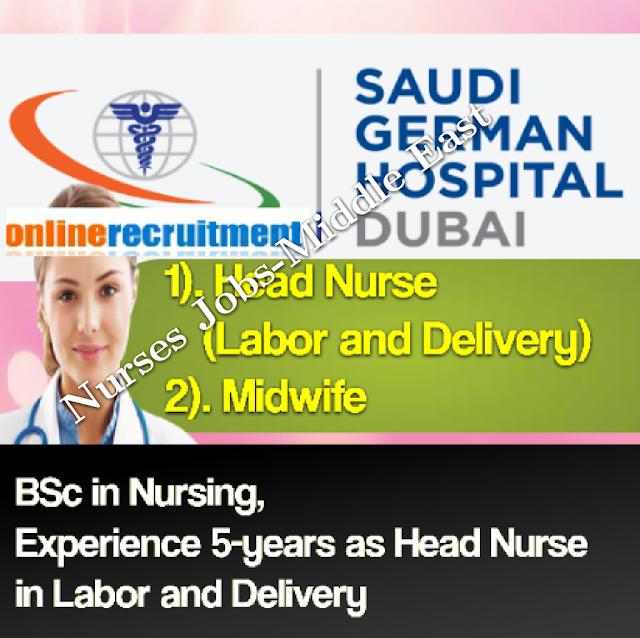 Nurses Jobs Middle East Head Nurse Job At Saudi German